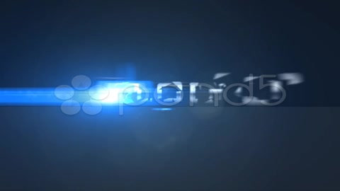 After Effects Project - Pond5 Dark Logo Build from Pieces Optical Flares An ...