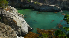 China Beach Point Lobos Stock Footage