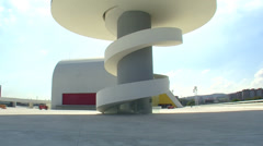 Niemeyer Center Stock Footage