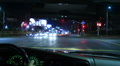 4K Driving POV Timelapse 14 Drivers View Hollywood Night Footage