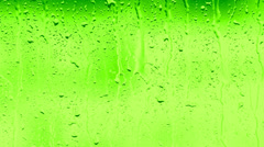 Condensate drops - close-up Stock Footage