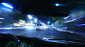 4K Driving POV Timelapse 15 Drivers View Hollywood Night Footage