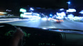 4K Driving POV Timelapse 16 Drivers View Sunset Strip Night Footage