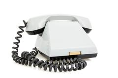 Stock Photo of old fashioned telephone