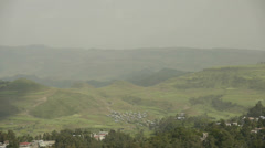 Gondar cityscape 3 Stock Footage
