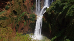 Ouzoud Waterfalls in Morocco Stock Footage