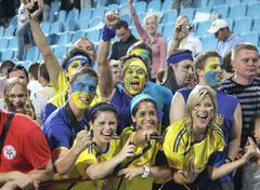 Ukrainan jalkapallofanit Kuvituskuvat