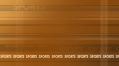 Stock Video Footage of news bg: sports background