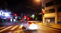 4K Intersection Traffic Timelapse 14 Loop Los Angeles Little Tokyo Night 4K 4k or 4k+ Resolution