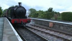 SteamTrain - stock footage