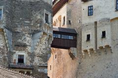 pernstejn castle - stock photo