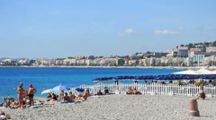 Nice in south France (10) Stock Footage