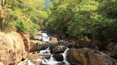 Nangrong waterfall Stock Footage