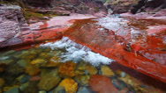 Stock Video Footage of Red Rock Canyon of Canada