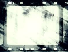 Grunge film frame Stock Illustration