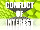 Stock Illustration of Conflict of Interest