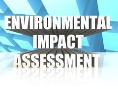 Stock Illustration of Environmental Impact Assessment