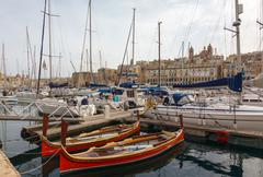 View from the vittoriosa Stock Photos