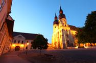 Stock Photo of saint nicolas church in trnava, slovakia - eastern europe