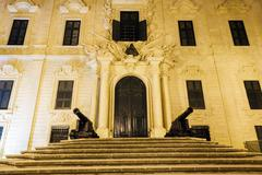 Prime minister's office in valletta Stock Photos