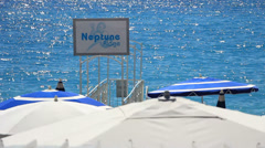 Nice in south France (23) Stock Footage