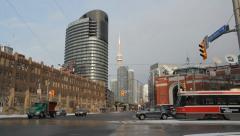 Winter in Toronto. Stock Footage