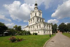 Church of mikhail archangel Stock Photos