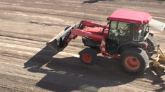 Front Loader Trucks, Construction Vehicles Stock Footage