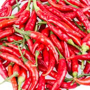 red cayenne pepper - stock photo