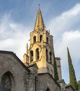 Avignon, belfry Stock Photos