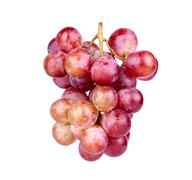 Bunch of red grape Stock Photos