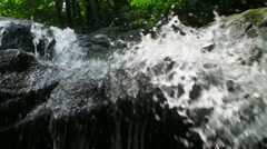Waterfalls in Shenandoah Stock Footage