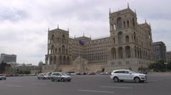 'Government House' in Baku, Azerbaijan Stock Footage