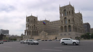 Stock Video Footage of 'Government House' in Baku, Azerbaijan