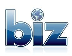 Business earth globe illustration design graphic Stock Illustration