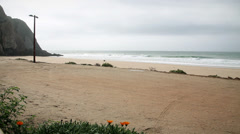 BEACH nature timelapse Stock Footage