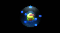 Quark particle. Stock Footage