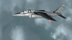 Fighter jet fly high. Stock Footage
