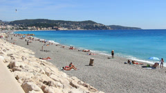 Nice in south France (29) Stock Footage