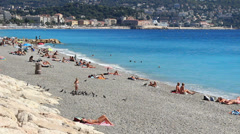 Nice in south France (30) Stock Footage