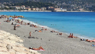 Stock Video Footage of Nice in south France (30)