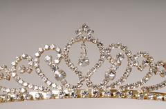tiara - stock photo