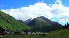 Livigno Valley, Italy Stock Footage