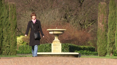 Walk in the park, london Stock Footage