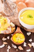 Fresh mayonnaise Stock Photos