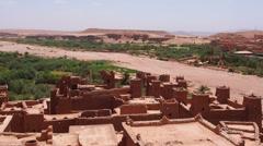 Ait Benhaddou, Morocco Stock Footage