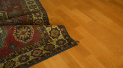 Under carpet Stock Footage