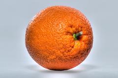 One full orange only Stock Photos
