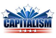 Stock Illustration of capitalism sign