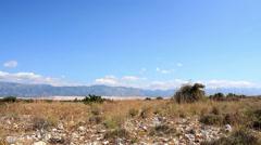 Dalmatian Landscape 3 Stock Footage